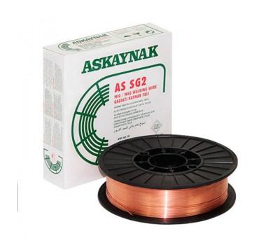 Проволока сварочная омедненная AskaynakSG-2 d-0,8мм кас-15кг