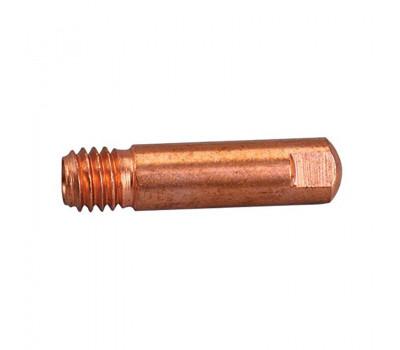 Наконечник для горелки Abicor Binzel E-Cu 1,0мм M6 d-6мм L-25мм