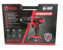 Edon аккумуляторный шуруповёрт AD-18CP
