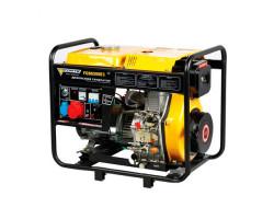 FORTE дизельный генератор FGD6500E3 5,5кВт