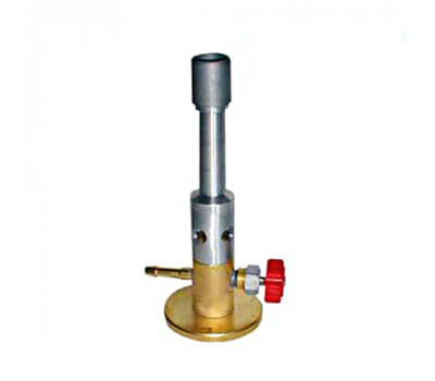 Пальник лабораторна газоповітряна Донмет 285 Бунзена d-6мм