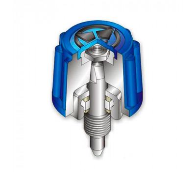 Вузол вентиля кисню підігрівального Донмет РМ2/ РМ3/ 262/ 337/ 337У/ 300У (КП)