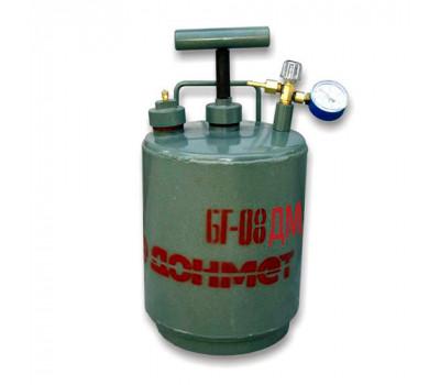 Бачок для рідкого палива з манометром та клапаном Донмет БГ-08-ДМ
