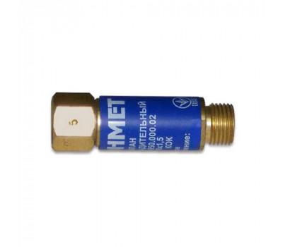 Клапан вогнеперешкодний на різак ''Донмет'' КОК М12х1,25мм (кисень)