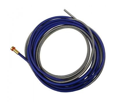 Спираль подающая GET STAR WELD синяя d-1,5-4,5мм L-50м для проволоки d-0,8-1,0мм
