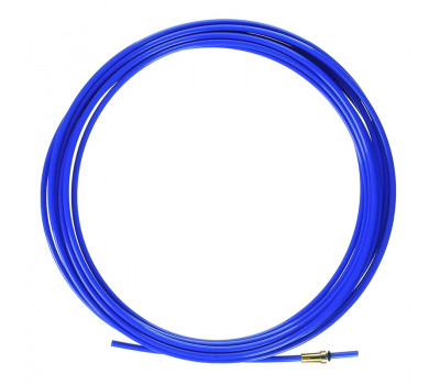 Направляющий канал тефлоновый синий GET STAR WELD L-3,5м для проволоки d-0,8-1,0мм