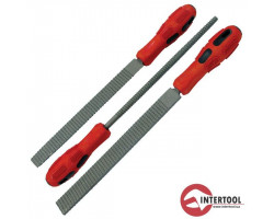 INTERTOOL рашпили 12 зуб/кв.см 3шт