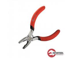 INTERTOOL плоскогубцы L-115мм (изолированные рукоятки)