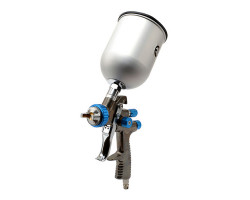 INTERTOOL краскораспылитель LVLP BLUE NEW d-1,4мм,V-600мл,Р-до 1,5бар
