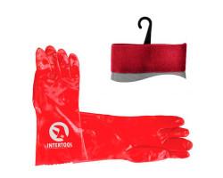 """INTERTOOL 14"""" покриття PVC (червоні)"""