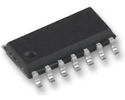 ONS MC33074ADR2G U-3~44В, 4-x канал, 4.5 МГц,  SO14 операційний підсилювач