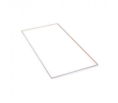 Прозорий захистний пластик ПЕТ для зварювальної маски 50х95,5 мм h-0,8 мм