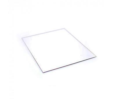 Прозрачный защитный пластик ПЭТ для сварочной маски 89х108 мм h-0,8 мм