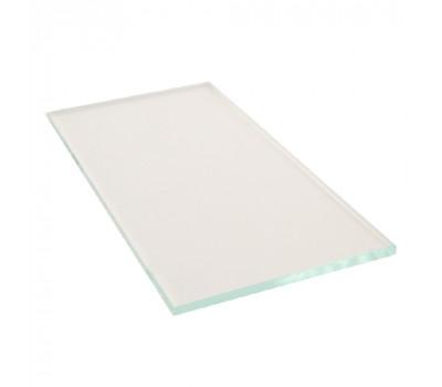 Защитное прозрачное стекло 52х102 мм h-2,0 мм