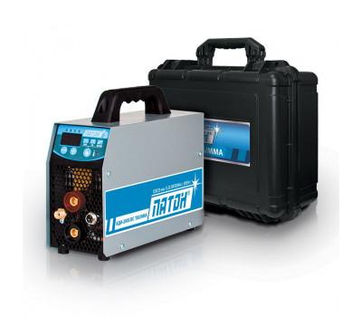 Аргонодуговой цифровой инверторный выпрямитель Патон АДИ-200S DC TIG/MMA (кейс)