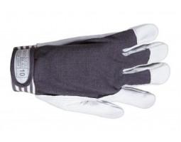 Перчатки кожаные S2GO PICK-UP LIGHT р.-09 (белые)