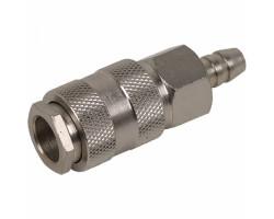 Miol быстросъемник d-6мм (с клапаном)