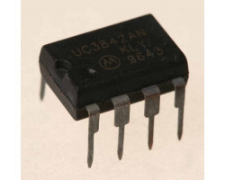 Texas Instruments UC3842AN V-11.5~25В, 450кГц, DIP-8, контролер AC/DC