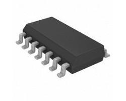 Texas Instruments UC3844D V-16~28В, 500кГц, вихід-3.5В/1А, SO14-150, ШИМ контроллер