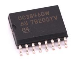 Texas Instruments UC3846DW V-8~40В, 450кГц, SOIC-16-300, контролер AC/DC