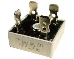 KBPC3510 V-1000В, I-35А (вив-6,4x0,8мм)
