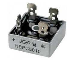 KBPC5010 V-1000В, I-35А (вив-6,4x0,8мм)